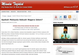 apakah masia ngr islam