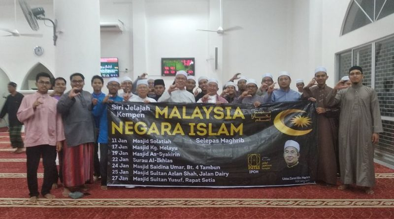 Malaysia selamanya negara Islam bukan negara sekular!